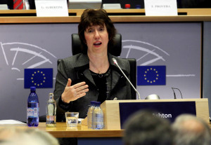 European External Relations Commissioner-designate Catherine Ashton of Britain
